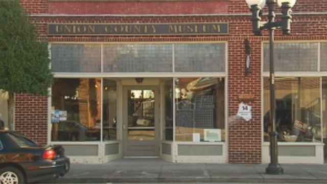 The Union Co. Museum is located on W. Main Street. (Oct. 11, 2012/FOX Carolina)