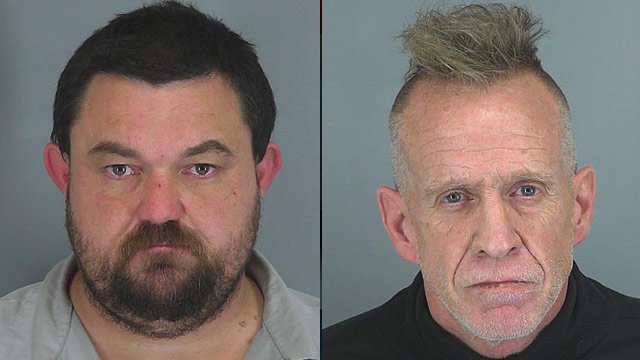 Jerry Burnett (left) and Michael Pitts. (Spartanburg Co. Sheriff's Office)