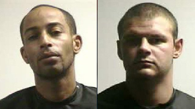 Johnny Walker (left) and Michael Wofford. (Pickens Co. Detention Center)
