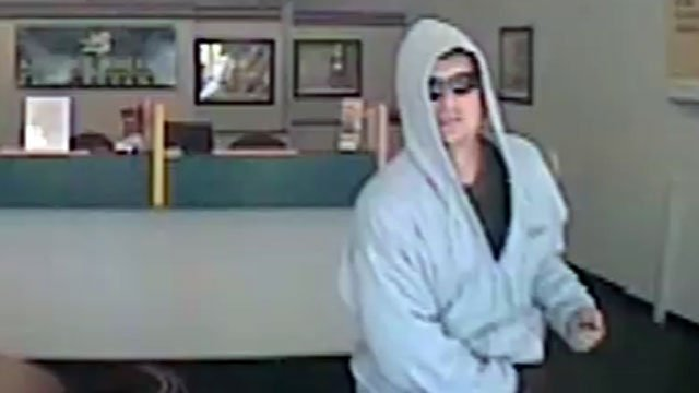 Deputies released this image of a man believed to have robbed a cash advance store. (Oct. 17, 2012/FOX Carolina)