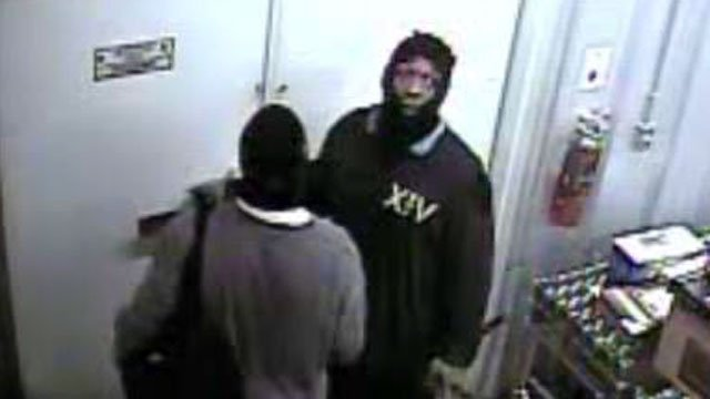Anderson County deputies say these men broke into a Pelzer store. (Sept. 4, 2012/Anderson Co. Sheriff's Office)