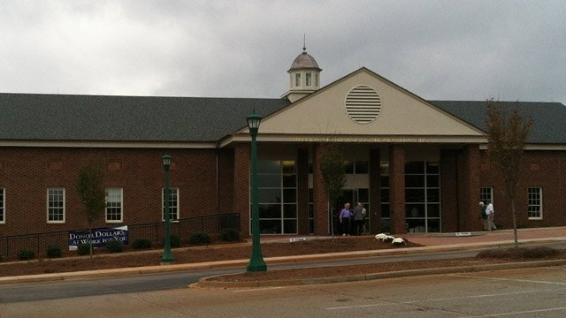The Herring Center for Continuing Education at Furman University. (Oct. 18, 2012/FOX Carolina)