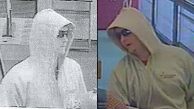 Asheville police say this man held up a bank. (Oct. 23, 2012/Asheville Police Dept.)