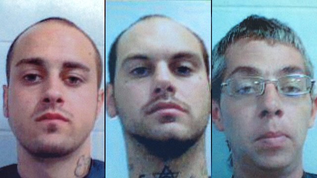 From left to right: Jacob Fulmer, Robert Fulmer and James Smith. (Clemson Univ. Police Dept.)