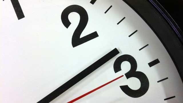 Most clocks across the U.S. will be turned back one hour. (File/FOX Carolina)