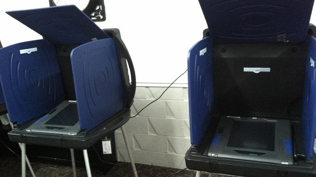 Since the polls opened, electronic voting machines have been down at the Cherokee Springs Fire Dept. in Chesnee. (Nov. 6, 2012/FOX Carolina)
