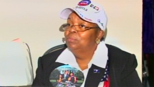 Edith Childs talks with FOX Carolina about her efforts on the President Obama campaign trail. (Nov. 7, 2012/FOX Carolina)