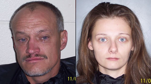 Phillip Hollingsworth and Shayla Gaines. (Laurens Co. Sheriff's Office)