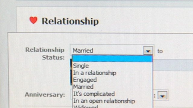Facebook offers new profiles for couples based on their relationship status. (File/FOX Carolina & Facebook)
