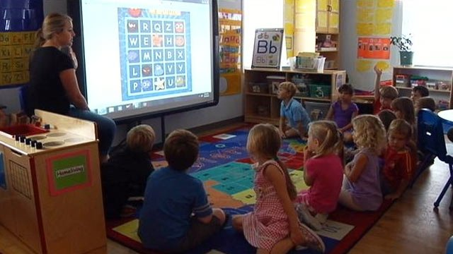 Young students in an Upstate classroom. (File/FOX Carolina)