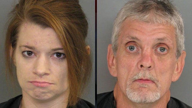 Andrea Mitchell and Tony McGinnis (Anderson Co. Sheriff's Office)
