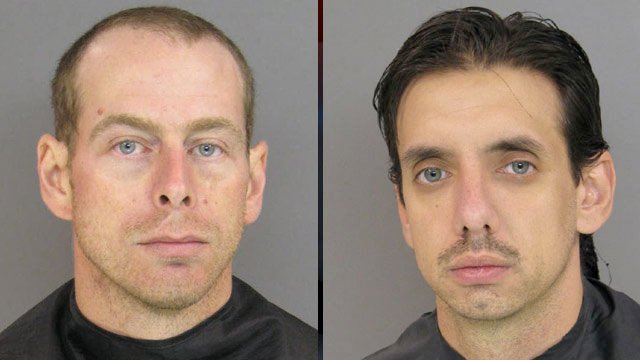 John Michael Young and Shaine Fischer (Anderson Co. Sheriff's Office)