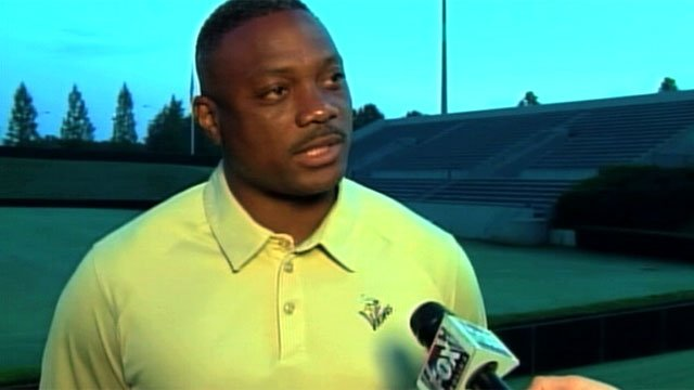 Freddie Brown talks with FOX Carolina as the head football coach of Spartanburg High School. (File/FOX Carolina)