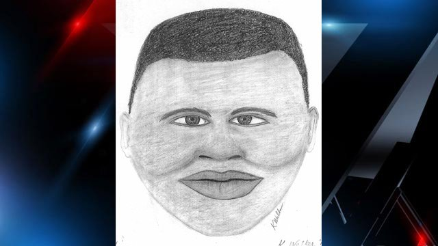 A police sketch of the second subject police say robbed a pizza delivery man at gunpoint. (Clemson City Police Dept.)