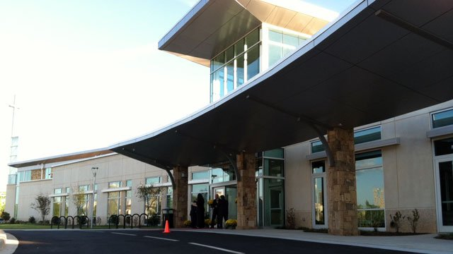 The Kroc Center is seen on its opening day in downtown Greenville. (File/FOX Carolina)