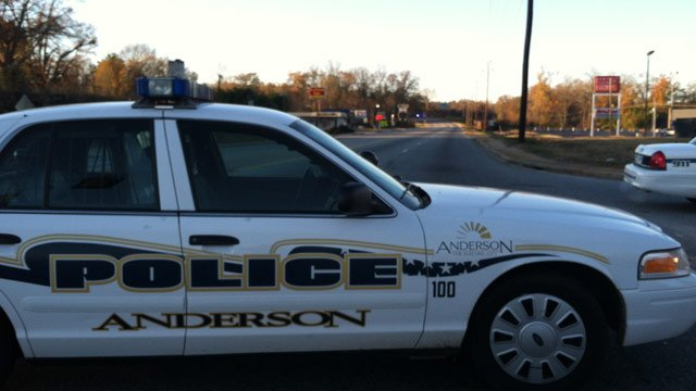 Police had Shockley Ferry Road blocked to thru traffic following the crash. (Nov. 24, 2012/FOX Carolina)