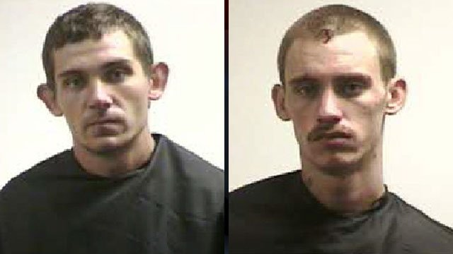 Rickylee Smith (left) and Jonathan Moody. (Pickens Co. Sheriff's Office)