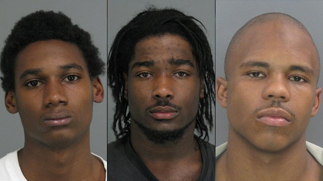 From left to right: Drakkar Crawford, Freddie Edwards and Fred Pearson. (Solicitor's Office/SC Dept. of Corrections)