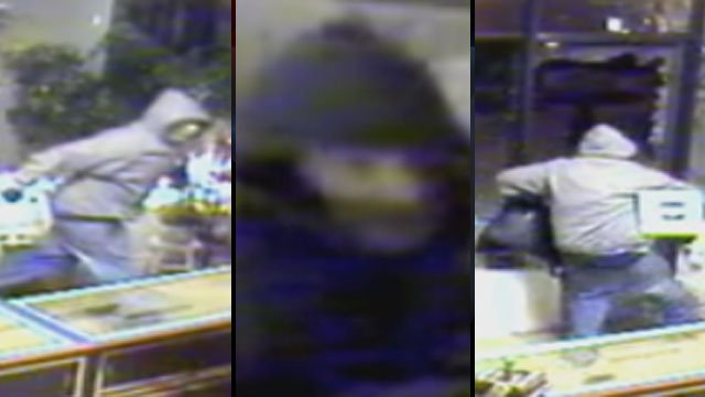 Deputies said they believe this man broke into four business in Greenville County last week. (FOX Carolina)