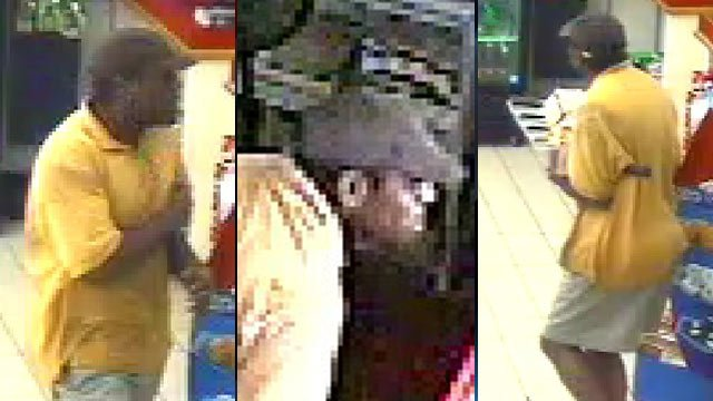 Surveillance photos from one of the Citgo Corner Mart burglaries. (Greenville Police Dept.)