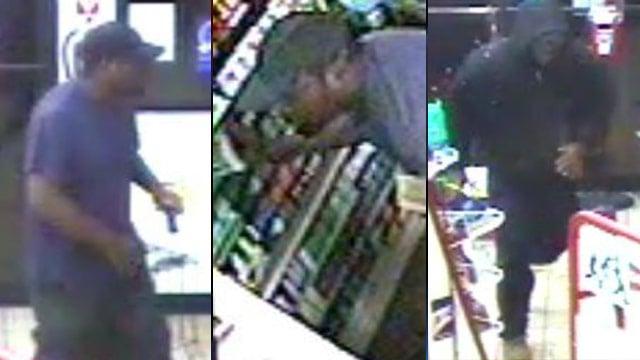 Surveillance photos from one of the Citgo Corner Mart burglaries. (Greenville Police Dept.)