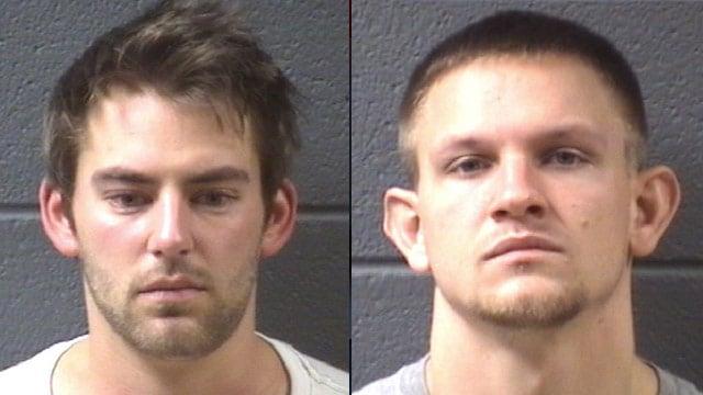 Jonathan Aliferis (left) and Lloyd Phillips (Asheville Police Dept.)