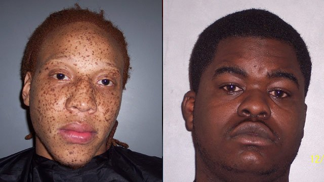 Carlton Gregory Jr. (left) and Jahquan Peterson. (Laurens Co. Sheriff's Office)