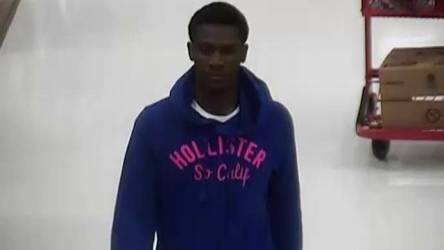A Target store's surveillance photo of the man deputies say stole from the store on Tuesday. (Dec. 4, 2012/Spartanburg Co. Sheriff's Office)