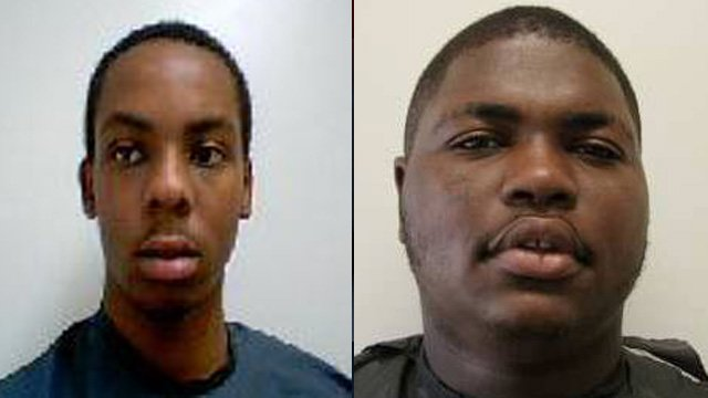 Horace Young Jr.  (left) and Jamel Brown (Clemson Police Dept.)