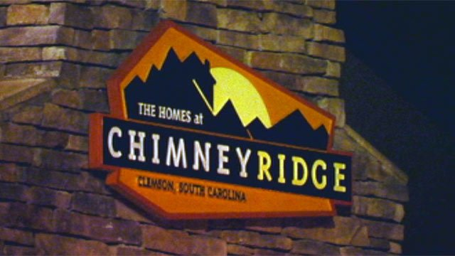 The Homes at Chimney Ridge are located off of Issaqueena Trail in Central. (Dec. 9, 2012/FOX Carolina)