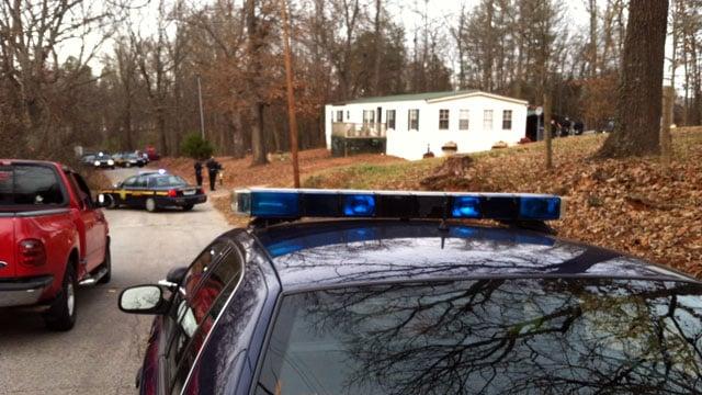 Deputies block off Willis Street in Greenville after a shooting. (Dec. 11, 2012/FOX Carolina)