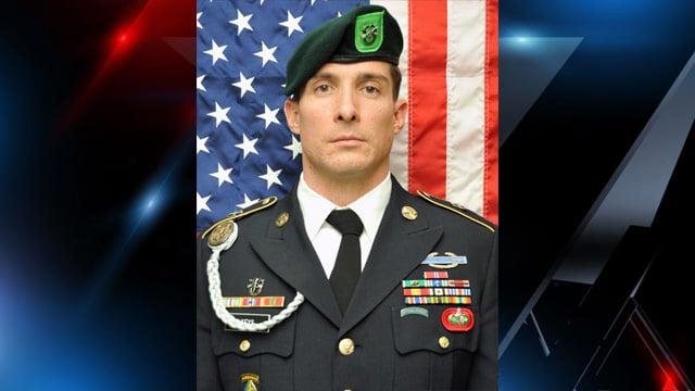Sgt. 1st Class Bradley Keys, of Inman, SC. (U.S. Army Special operations Command)