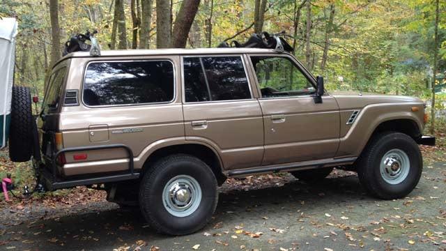 A photo of Jason Tharp's stolen SUV. (Courtesy Jason Tharp)