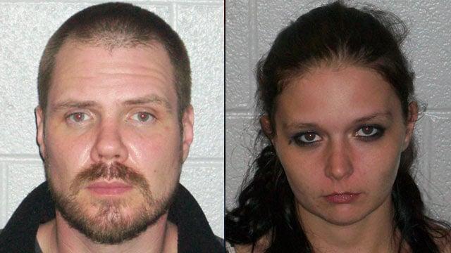 James Aiken (left) and Shannon Stepp. (Henderson Co. Sheriff's Office)
