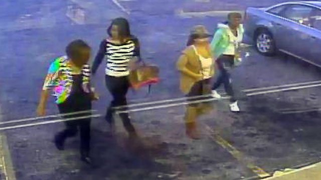 Police said these women stole more than $100 in hair from a Spartanburg beauty supply store. (Dec. 27, 2012/Spartanburg Public Safety Dept.)