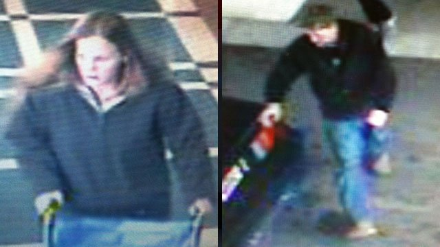 Greer police said this woman and man dropped off a gunshot victim at Greer Memorial Hospital. (Jan. 2, 2013/Greer Police Dept.)