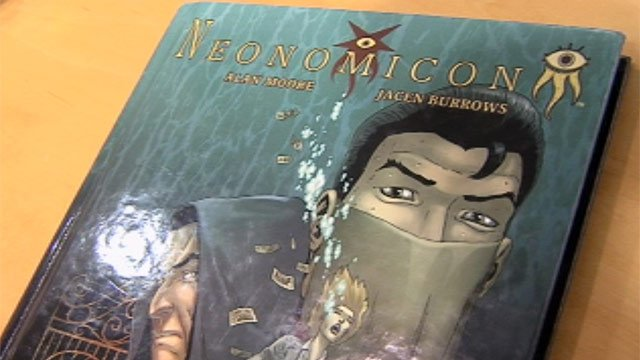 Neonomicon is a graphic novel about undercover FBI agents sent to investigate ritual murders. (Jan. 2, 2013/FOX Carolina)