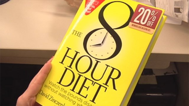 'The 8 Hour Diet' concentrates all your eating into an eight-hour window to maximize weight loss. (Jan. 2, 2013/FOX Carolina)