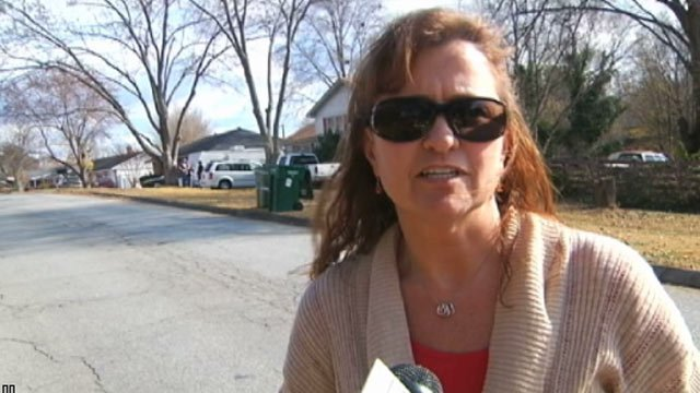 Assistant Police Chief Colleen O'Neil in a Dec. 2012 interview with FOX Carolina about a meth lab. (File/FOX Carolina)