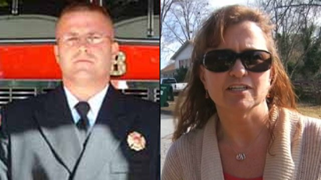 Simpsonville Fire Chief Wesley Williams and Simpsonville Assistant Police Chief Colleen O'Neil. (Simpsonville Fire Dept./FOX Carolina)