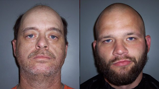 Terry Burton and Joshua Sellars (Laurens Co. Sheriff's Office)