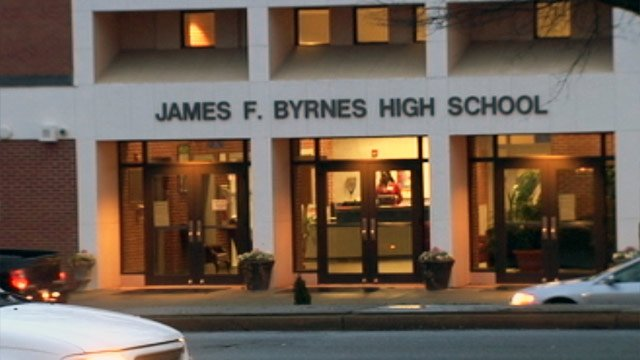 Byrnes High School and the James F. Byrnes Freshman Academy is located in Duncan, SC. (Jan. 15, 2013/FOX Carolina)