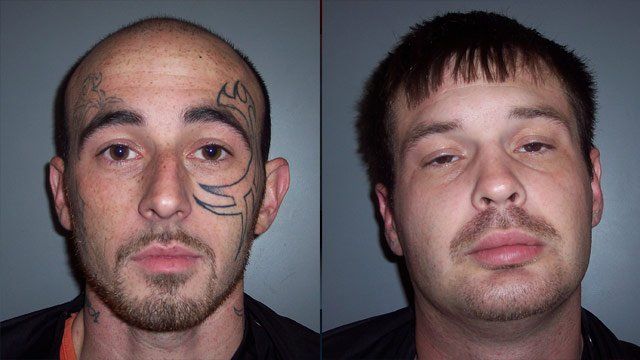 Justin Gray and Bobby Avery (Laurens Co. Sheriff's Office)