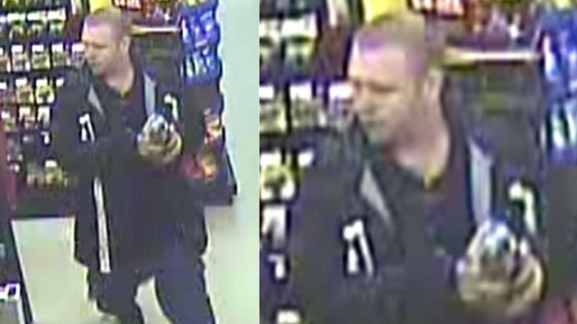 Deputies say this man broke into a Dollar General store in Simpsonville. (Jan. 17, 2013/Greenville Co. Sheriff's Office)