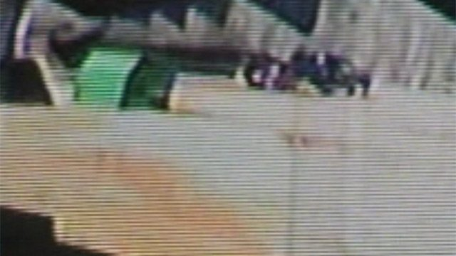 Surveillance of the truck and trailer used in Sunday's theft at the Chesnee Livestock Market. (Courtesy Chesnee Livestock Market)