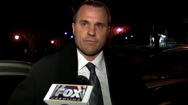 Former Simpsonville Police Chief Keith Grounsell talks to FOX Carolina after the City Council voted to fire him. (Dec. 28, 2012/FOX Carolina)