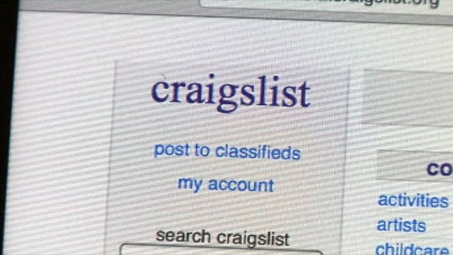 Craigslist is an online classifieds website. (File/FOX Carolina)