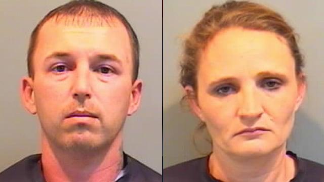 Jason McGown and Teresa Best-McGowan. (Union Co. Detention Center)