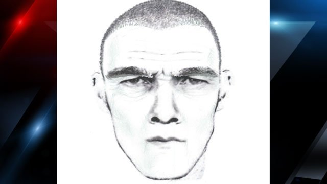 Asheville police released this sketch of a man believed to be connected to a sexual assault in December. (Asheville Police Dept.)