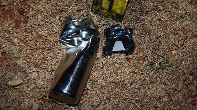 The device deputies detonated. (Spartanburg Co. Sheriff's Office)